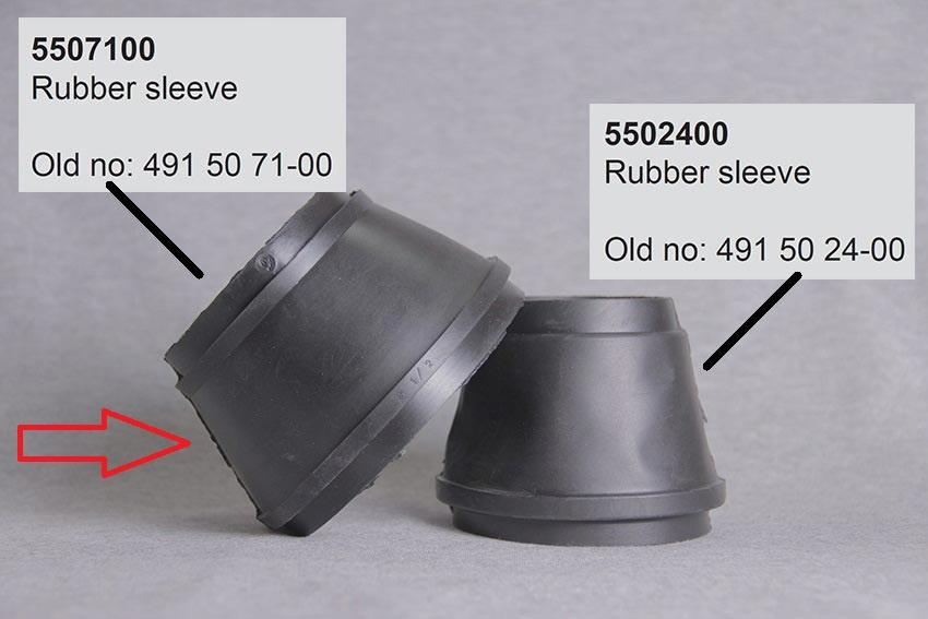 Electrolux gummipakning - Varenr. 309 / Evac 5507100 / VVS 614114309